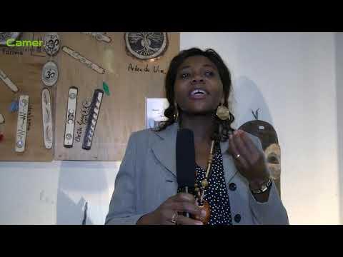 Joséphine Alebekal, promotrice de Afrik'art vandaag