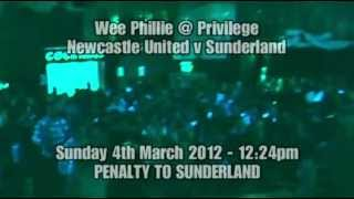 preview picture of video 'Privilege Derby Day 04/03/12 - 12.24pm, Penalty to Sunderland!'