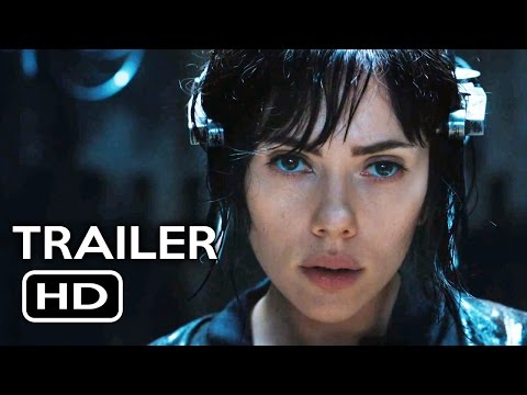 Ghost in the Shell Official Trailer #1