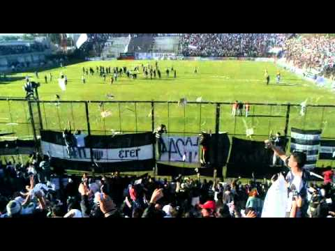 """recibimiento chaco for ever final"" Barra: Los Negritos • Club: Chaco For Ever"