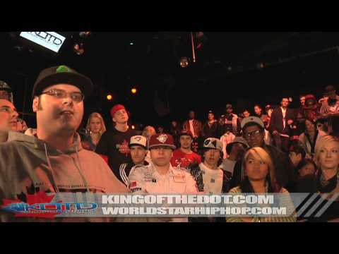 KOTD - Rap Battle - Lokust vs The Poet Trees