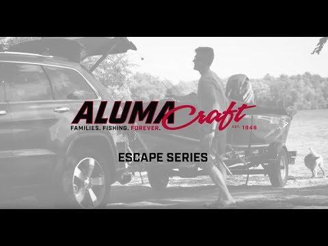 2018 Alumacraft ESCAPE 165 CS in Hutchinson, Minnesota