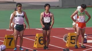 20180714群馬県国体予選男子成年100m予選-決勝