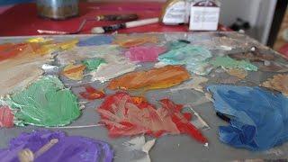 Making a Painter's Pallet/Palette - Glass (Part1)