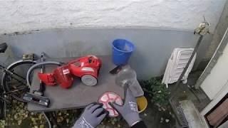 Dirt Devil DD 2820 beutelloser Bodenstaubsauger Compact Power Filter wechseln und säubern Anleitung