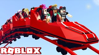 MAKING MY OWN THEME PARK IN ROBLOX