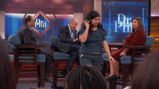 Homeless Woman Walks Off 'Dr. Phil' Stage
