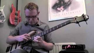 Nothing Else Matters Solo Bass Arrangement