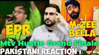 Reaction On Mtv Hustle Top Finalist EPR And M Zee Bella Performances