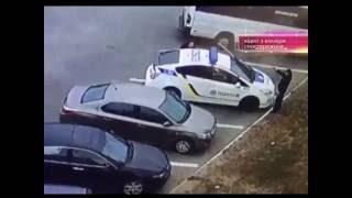 Мужчина застрелил двух полицейских. Днепропетровск. (9 канал)