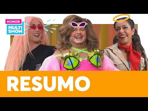 Angel, Ferdinando de drag e Jéssica escoteira!   MELHORES MOMENTOS   Vai Que Cola