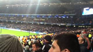 preview picture of video 'Ajax fans v Man City'