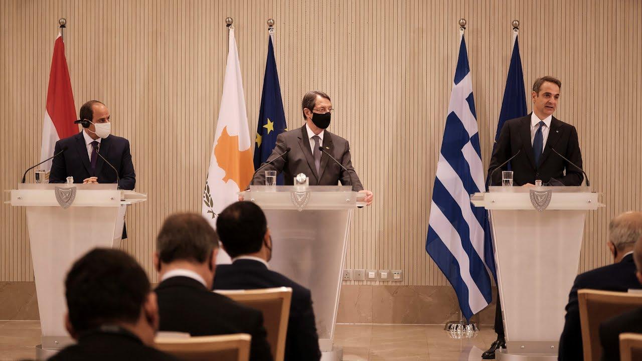 Τριμερής Σύνοδος Κύπρου, Ελλάδας και Αιγύπτου | Δηλώσεις