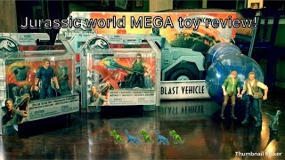 Jurassic World 2: Fallen Kingdom Group Toy Review! Gyrosphere Vehicle, Human Figures, And More!