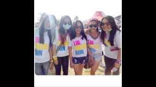 preview picture of video 'The Color Run Luwuk 2014  Foto-Foto Selfie Mereka '