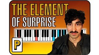 The Last Shadow Puppets - The Element of Surprise Piano Tutorial