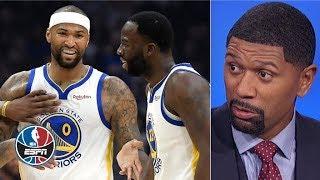 Warriors' 2019 free agency: Draymond Green vs. Boogie Cousins | NBA Countdown