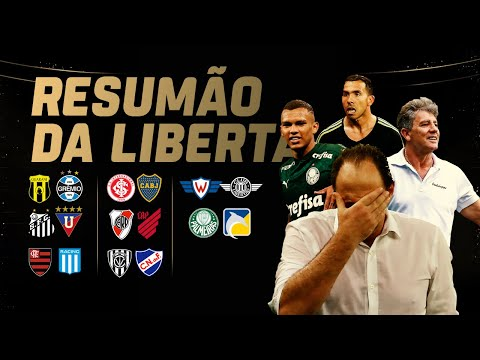 Dois do Fla podem sair após eliminação, Santos x Grêmio, e Palmeiras voando! Resumo da Liberta