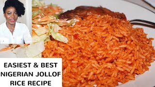 BEST NIGERIAN JOLLOF RICE RECIPE | Kenny Olapade