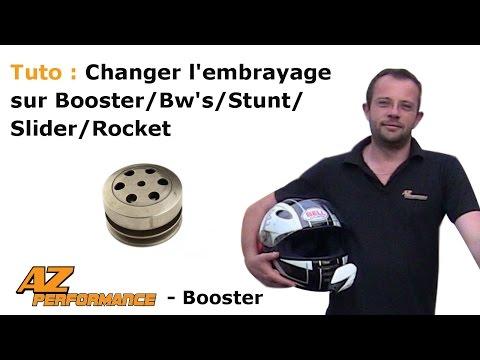 Changer le l'embrayage et/ou le correcteur de couple de son Booster / Stunt / Rocket / ...