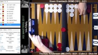 21point match (with XG-commentary): Steen Grønbech - Thomas Kristensen