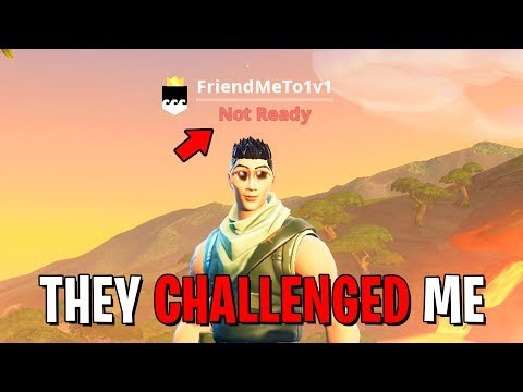"I put ""1V1 ME"" in my Fortnite name and Danced on Every Kill"