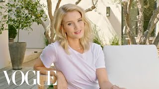 73 Questions With Rosie Huntington-Whiteley | Vogue - dooclip.me