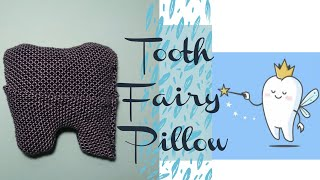 DIY Tooth Fairy Pillow// Tooth Fairy Pillow Tutorial // Beginner Attempt // Sewing Vlog //