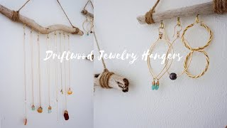 💫 DIY | Driftwood Jewelry Holder // Quick & Easy!