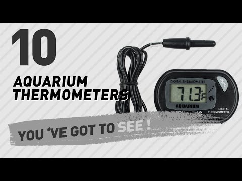 Top 10 Aquarium Thermometers // Pets Lover Channel Presents: