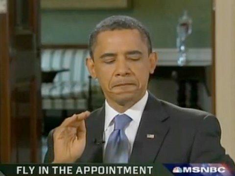 Obama szybszy od muchy