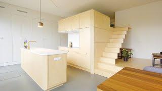 NEVER TOO SMALL Ep 32 45sqm/484sqft Small Apartment Loft Buikslotherham