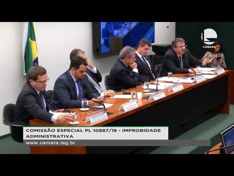 PL 10887/18 - Improbidade Administrativa - Discussão e votação de propostas - 09/10/2019 - 15:23