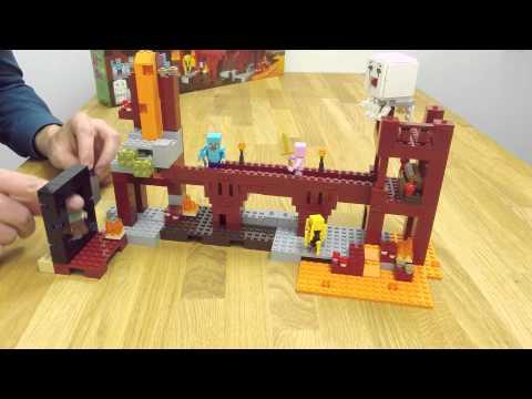 LEGO® Minecraft™ Подземная крепость 21122