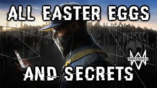 Watch Dogs 2 All Easter Eggs And Secrets HD