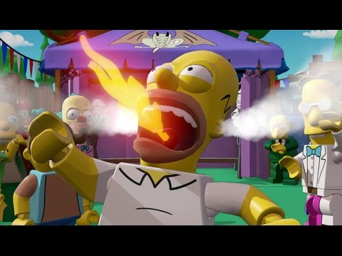 LEGO Simpsons Level Pack - The Mysterious Voyage of Homer Walkthrough