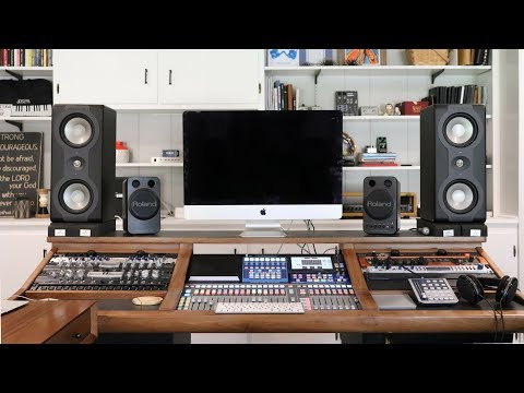 Home Studio Tour 2018