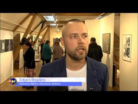 Valmierā atklāta Vidzemes mākslinieku darbu izstāde