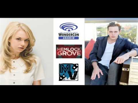 Hemlock Grove Roundtable Interview with Penelope Mitchell and Bill Skarsgård | MTW