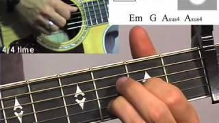 """Awakening"" Guitar Lesson -- Passion 2010 -- Chris Tomlin"