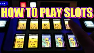 How To Play Slots [The Basics] For Beginners