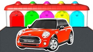 Learn Color Car and Truck - Cars for Kids w Colors for Children - Educational Learning Video