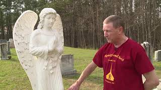 Angel Statue Stolen From Davidson County Cemetery