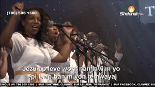 Jezu ap leve wont nan lavi'm Yo| Bondye Ap fém gadé Enmi'm Yo Nanjé