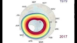 Arctic Sea Ice Death Spiral 2018 update