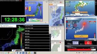 2016/01/14/ 12:25 M6.6 (震度5強)北海道 日高地方東部