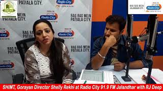 Director's Message to Radio City Listeners. SHIMT, Goraya
