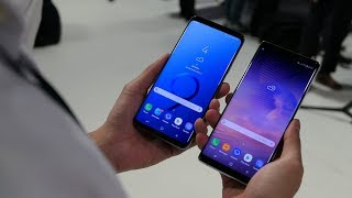 Samsung Galaxy S9+ vs Samsung Galaxy Note 8: first look