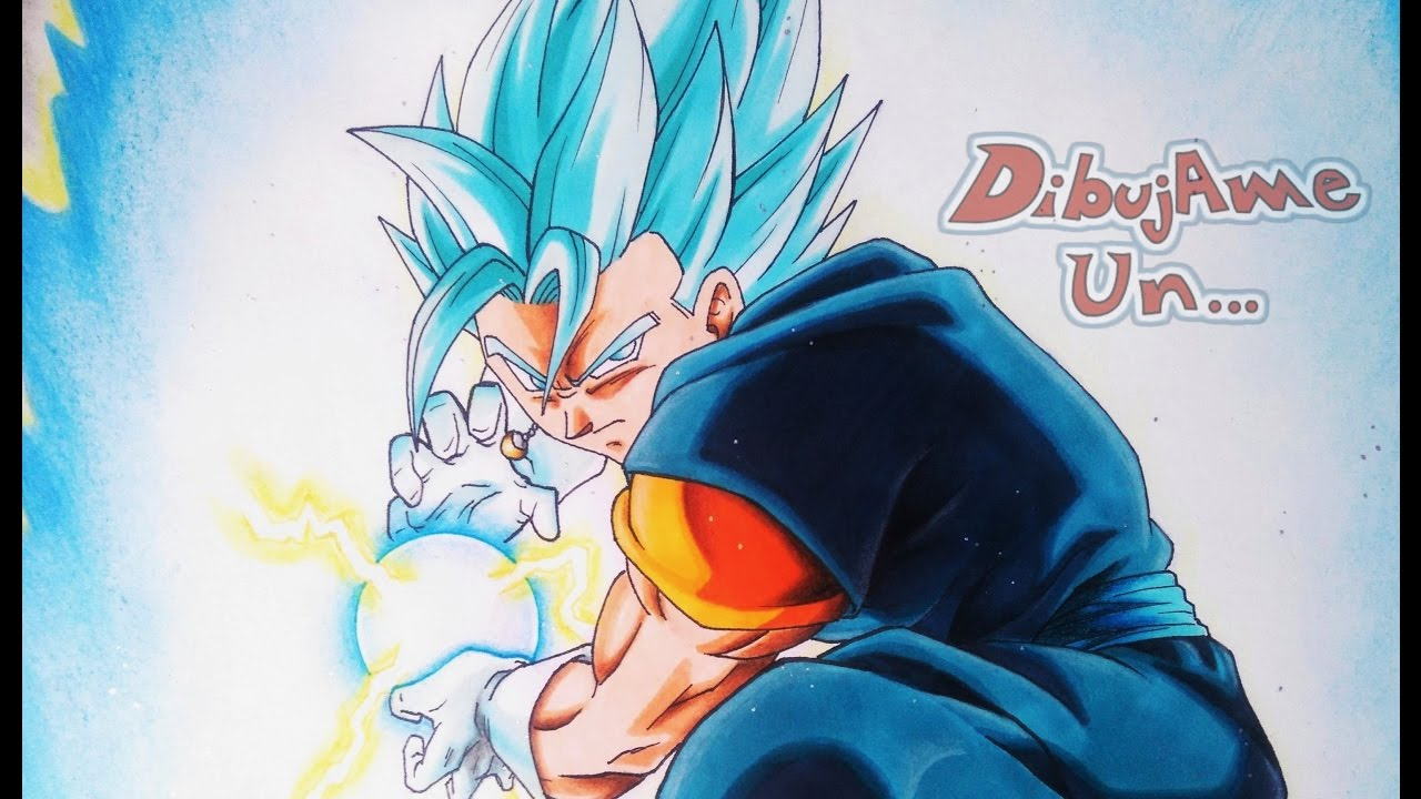 Como Dibujar A VEGETTO S Saiyan Blue Dragon Ball Super