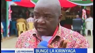 Bunge la Kirinyaga: Shughuli za kumchagua spika